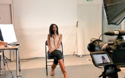 Réalisation d'une vidéo de portrait et d'interview de Nadège Nziza, doctorante en biologie de la santé, finaliste «Ma Thèse en 180 secondes» 2018, pour le Collège Doctoral de l'Université de Montpellier