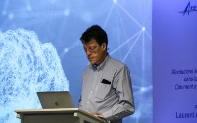 Conférence de Laurent Alexandre : «Révolutions technologiques dans la santé : comment s'y préparer ?»